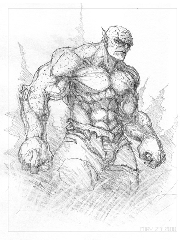 How To Draw Abomination Hulk Step By Step Easy Video Tutorial For Beginners
