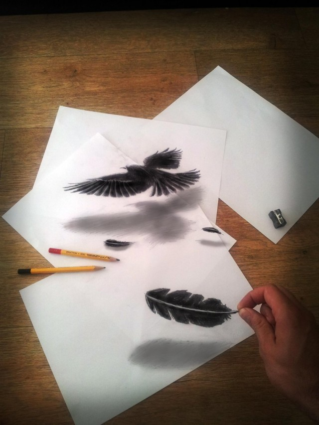 How To Draw 3 D Optical Illusions Step By Step Archives Rock Draw