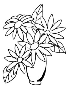 how to draw bouquet of flower