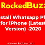 Install Whatsapp Plus for iPhone Latest Version 2020