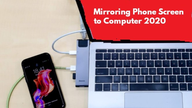 Mirroring Phone Screen to Computer