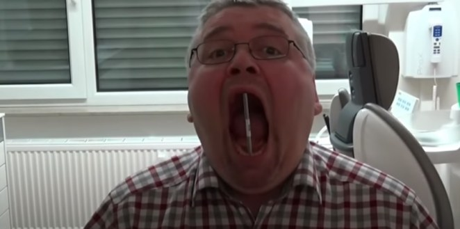 open his mouth the most in the German world