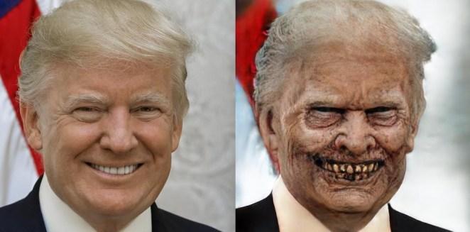 trump zombie