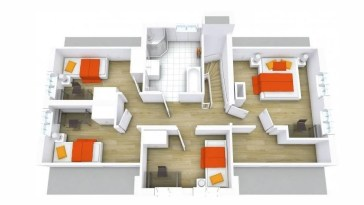 4 Bedroom House Plans PDF Free Download