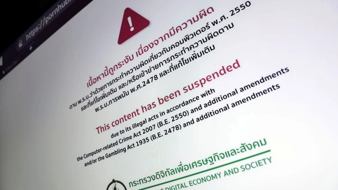 Ban On Adult Sites In Thailand