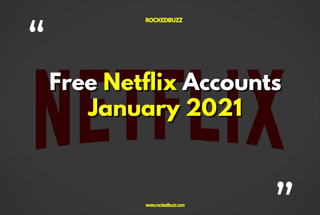 Free Netflix Accounts 2021