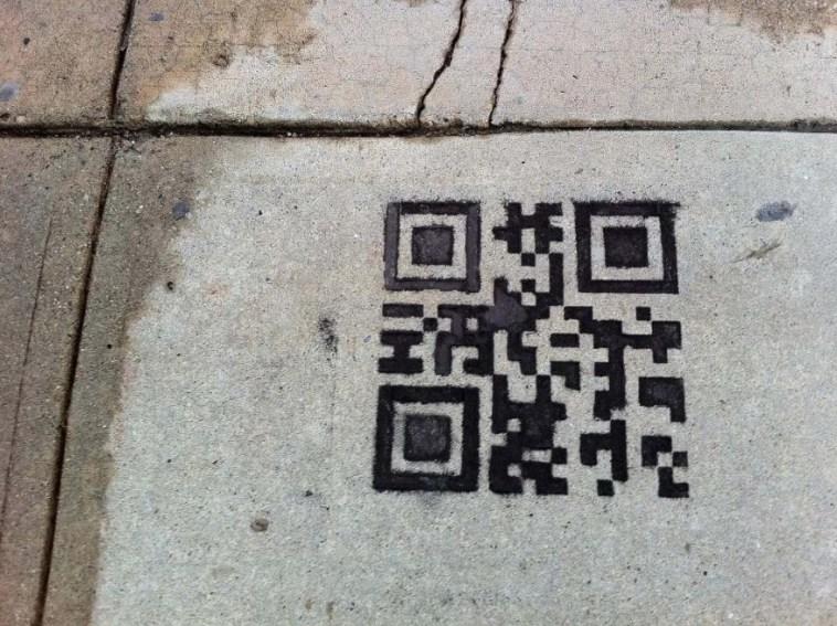 QR Code on the way