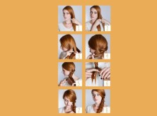 herringbone hair braid