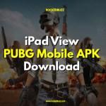 iPad View PUBG Mobile APK Download