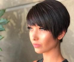 short hair styles for women Dark