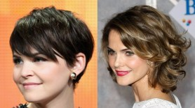 short hair styles for women Double chin