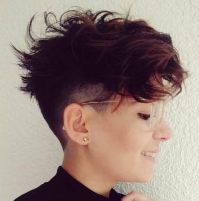 short hair styles for women TOMBOY