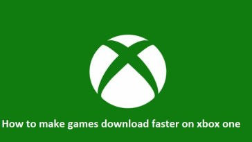 How to make games download faster on xbox on2e