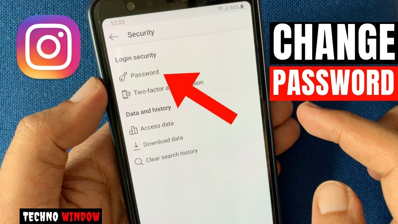 Instagram Password Change Link