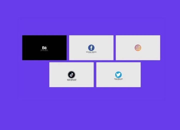 Social Media Logo Opener Free Download After Effects Template