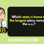 Which state is home to the longest place name in the u.s.?
