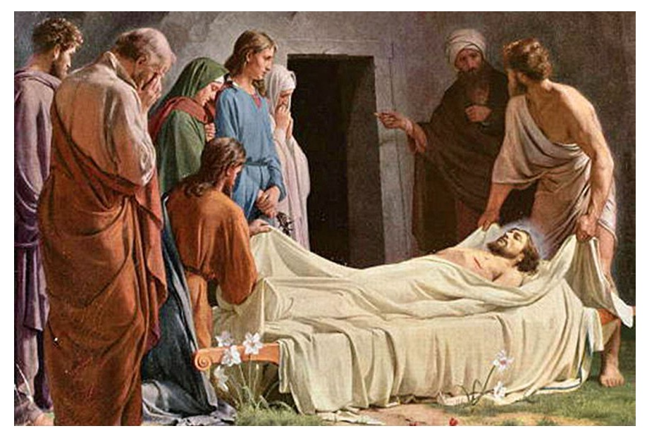 provide embalming spices for Jesus