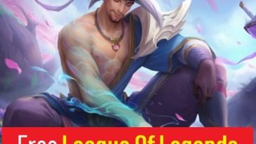 Free League Of Legends (LOL) Accounts 2021