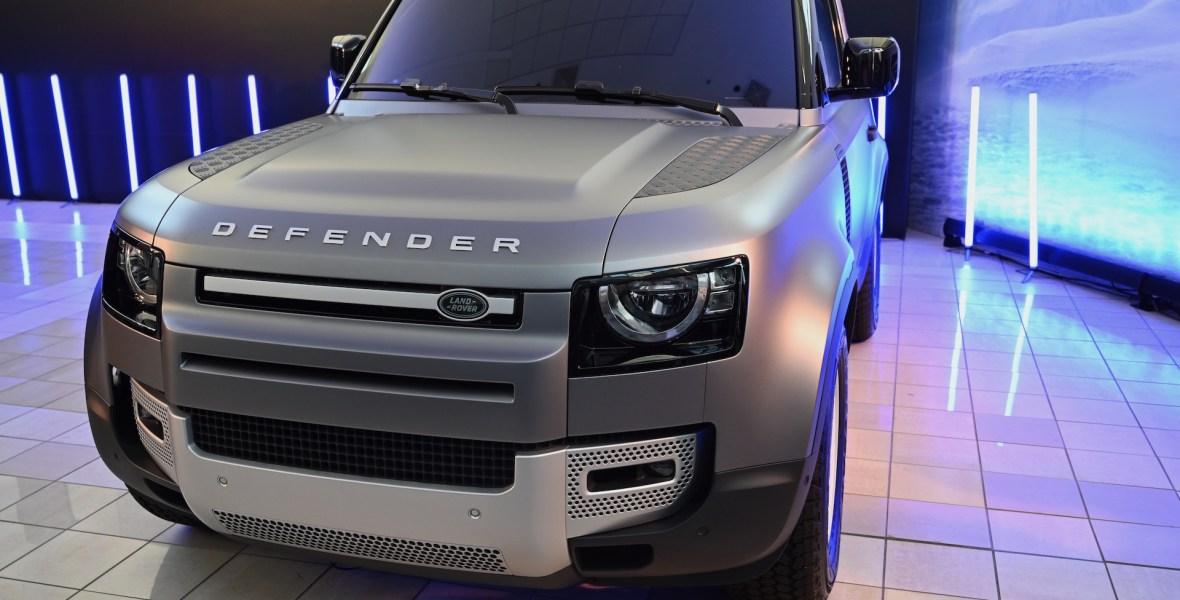 Land Rover Defender Reveal