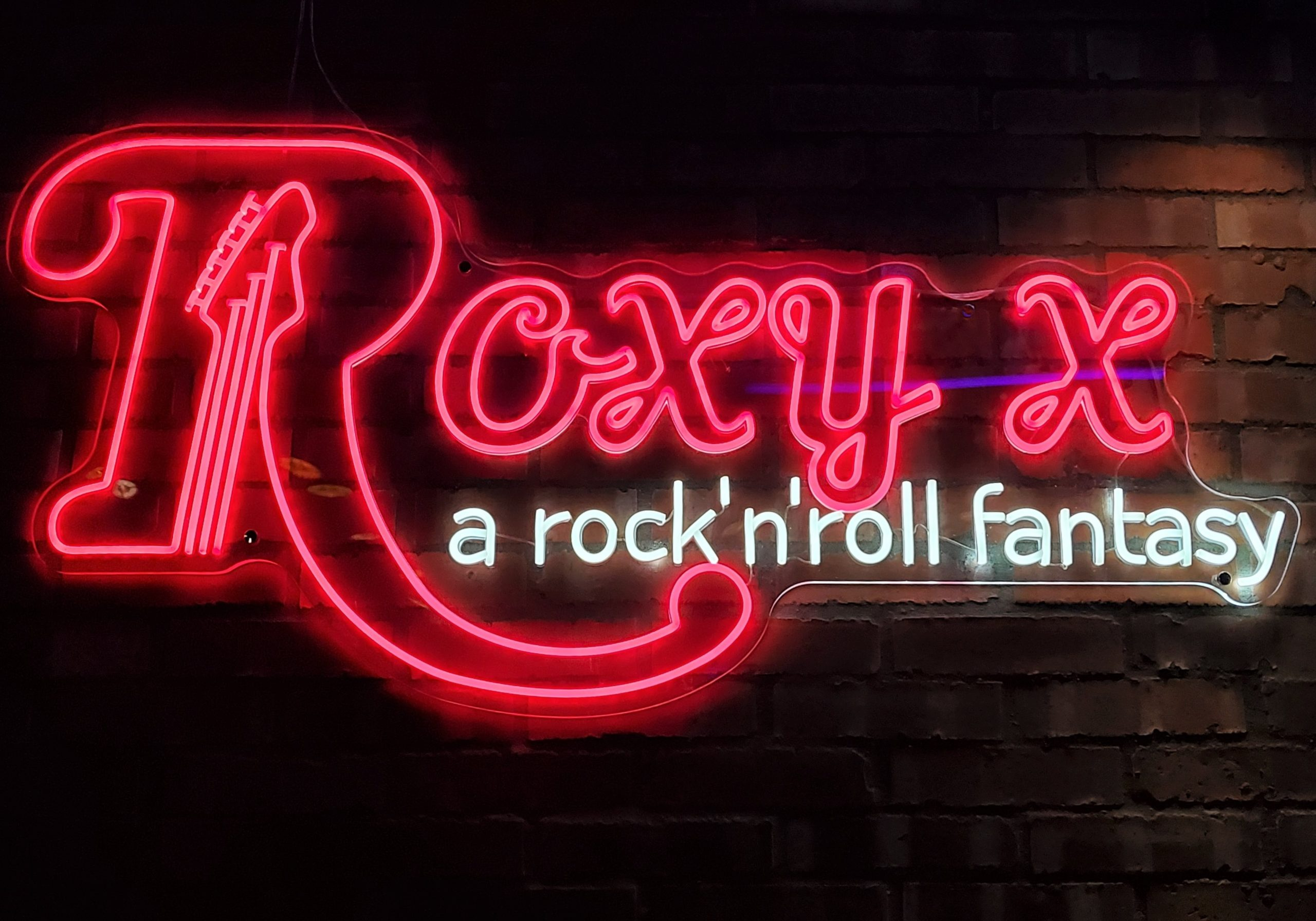 """ROXY X ""=  ""A ROCK ""N"" ROLL FANTASY """
