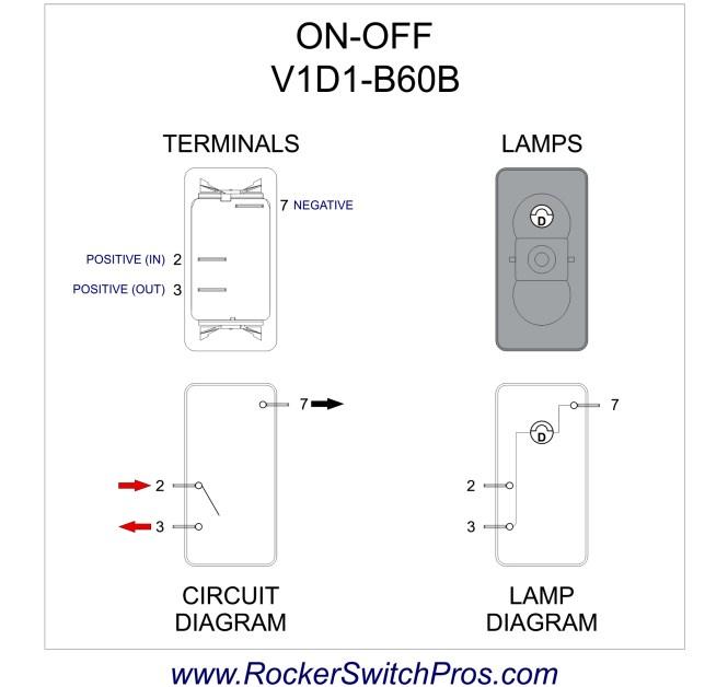 spdt rocker switch wiring diagram - wiring diagram, Wiring diagram