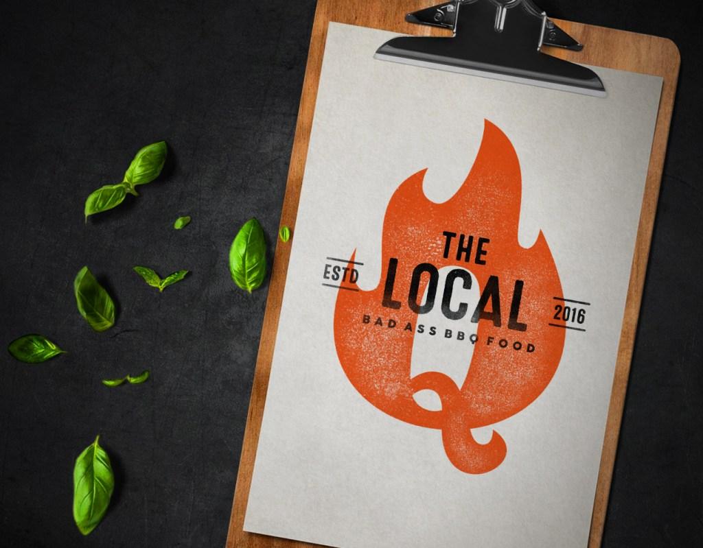 local Q menu mockup