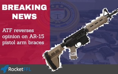 ATF Reverses Opinion – AR-15 arm braces no longer make an SBR when shouldered