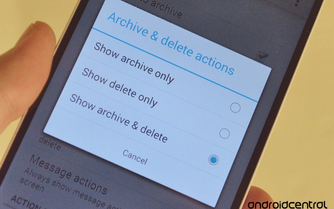 The difference between archiving and deleting in Gmail