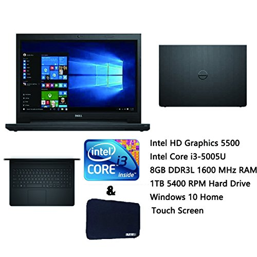 Recommended Budget Laptop Dell Inspiron 15 High Performance 156 Inch HD Touchscreen