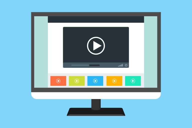 videos on news platforms