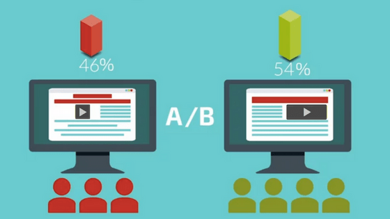 how to run ab tests for online videos