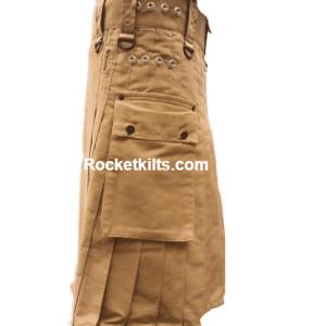 Khaki Kilt, Khaki Kilts, Kilts for Men, Utility Kilts for Men, Buy a kilt,carhartt work kilt,