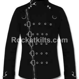 asylum jacket,asylum straight jacket,black asylum jacket,asylum heritage jacket