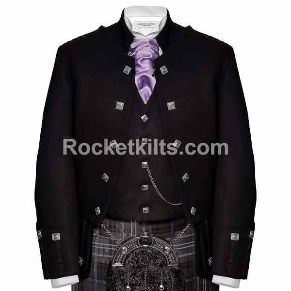 Sheriffmuir Jacket, Scottish kilt jacket, Argyll kilt jacket, Blazer jacket, argyle jacket, Wedding jacket, prince Charlie jacket for sale, prince Charlie jacket and waistcoat, Argyll jacket, prince Charlie jacket and vest, Scottish kilt jackets