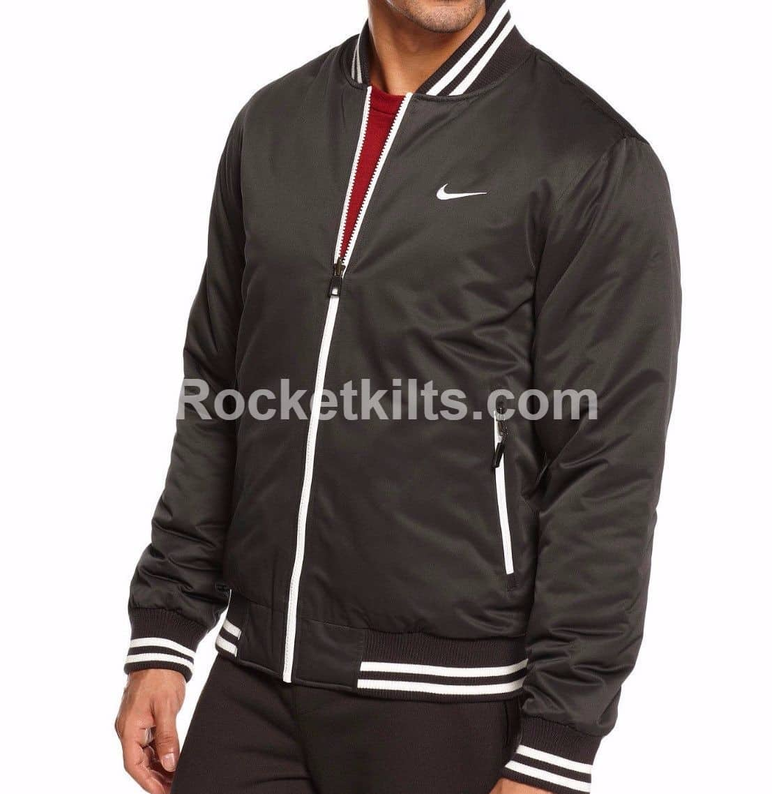 a38a180b1717 New Nike Varsity Mens Padded Bomber Jacket For Sale