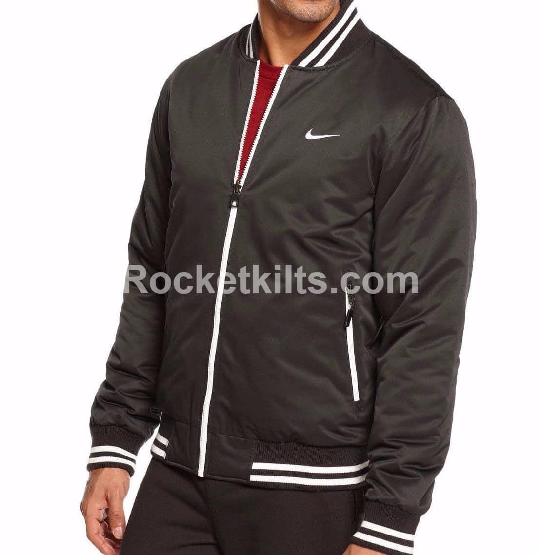188085711bc11 New Nike Varsity Mens Padded Bomber Jacket For Sale