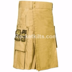 fashionable kilts,hybrid kilt, fashion kilt, modern kilt, khaki kilt, kilt buy, kilt for sale, great kilt