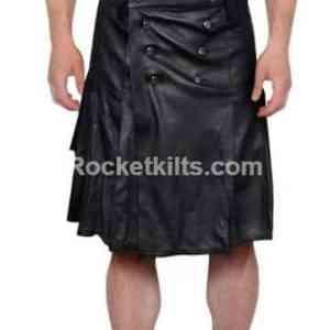 pleated leather kilt,men's leather gladiator kilt,black leatehr kilt,leatehr kilt, kilt for sale, kilt buy, great kilt