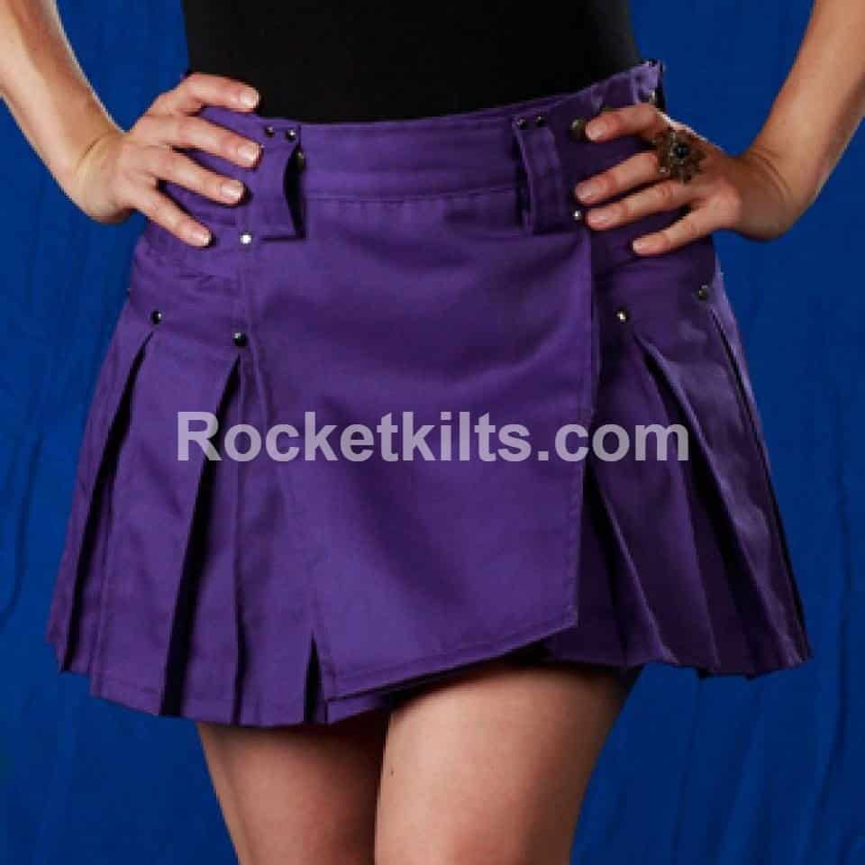 New Stylish Ladies Purple Dress Kilt For Sale