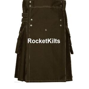 Homemade Kilts, Utility Kilts, Best Kilts, Brown Utility Kilt