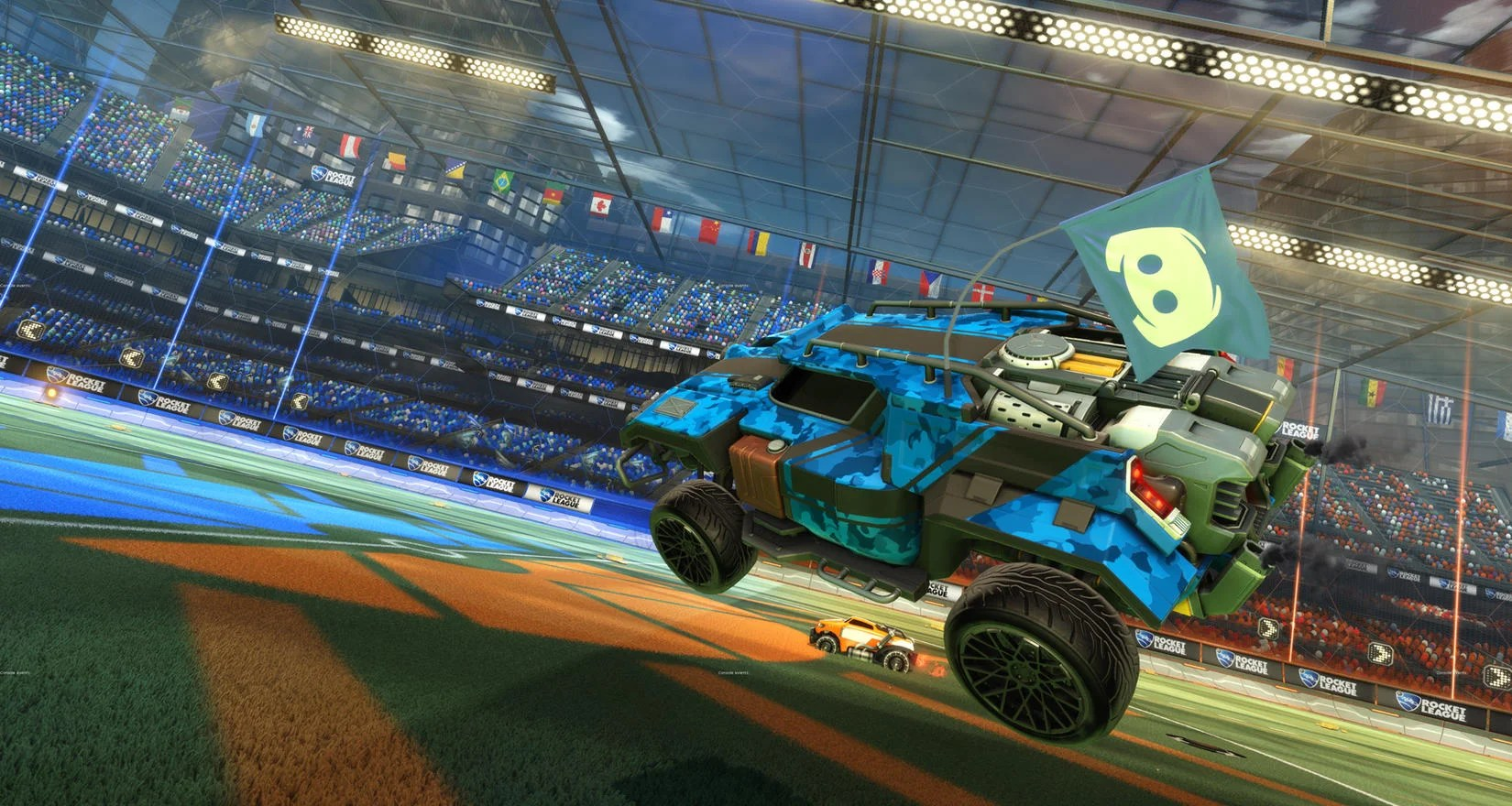DISCORD COMMUNITY FLAG IN SEPTEMBER   Rocket League       Official Site DISCORD COMMUNITY FLAG IN SEPTEMBER Image