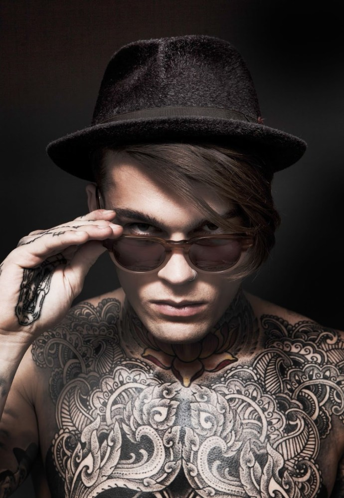 A Disrobed Stephen James by Darren Black | Hedonist 5