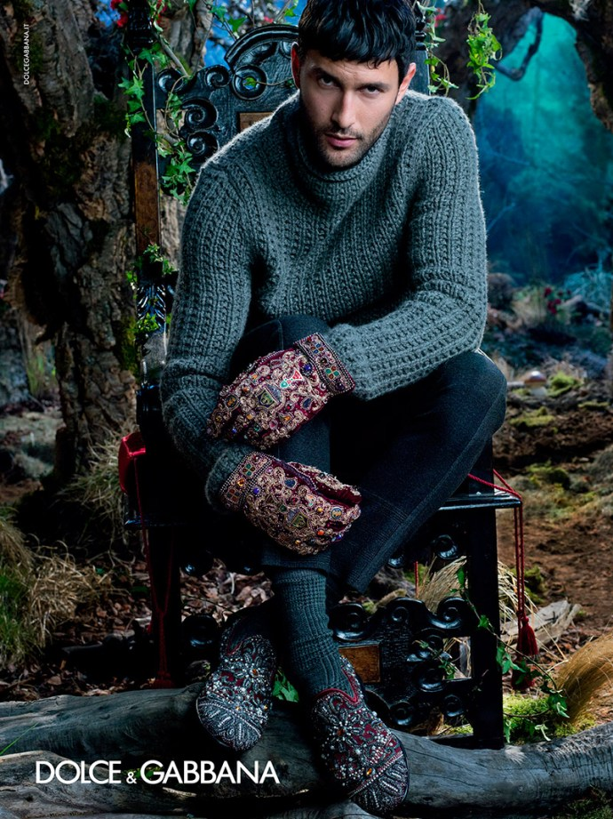 Dolce & Gabbana Fall Winter 2014 Campaign