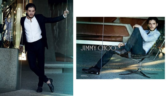jimmy choo carrera game of thrones keit harington 2014