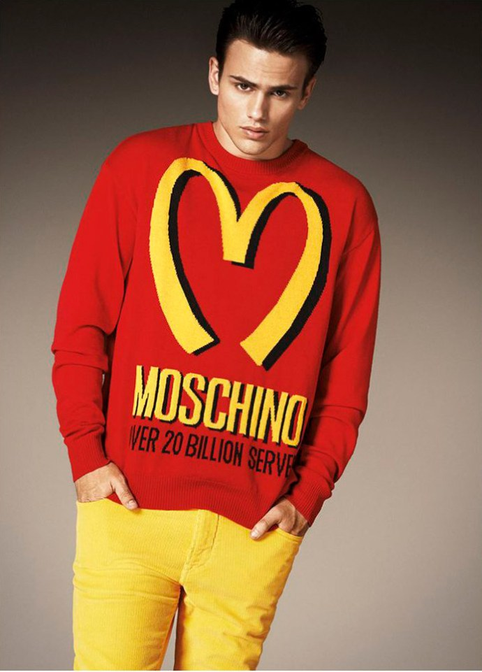Moschino fall winter 2014