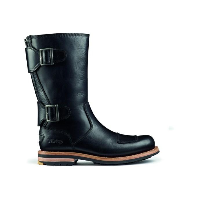 Norton Zip Black Leather