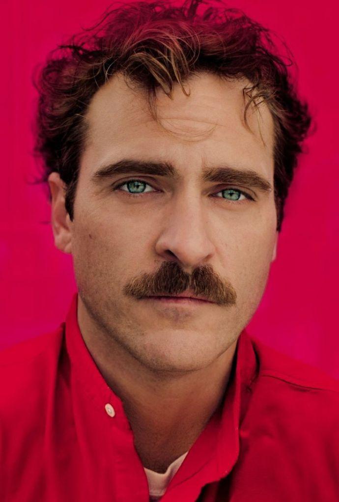 Joaquin Phoenix moustache