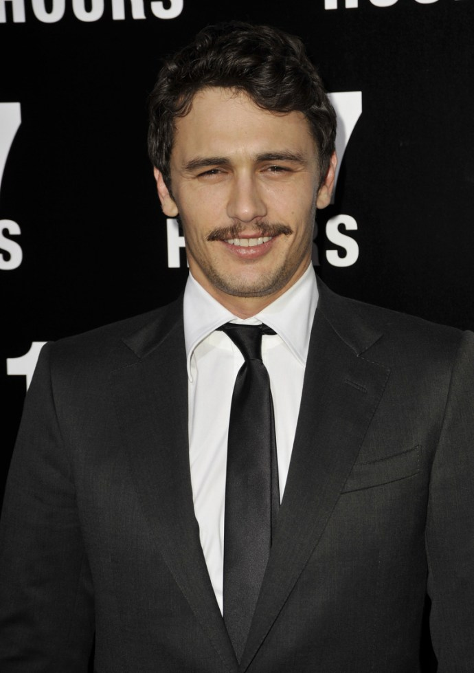 James Franco Movember Moustache