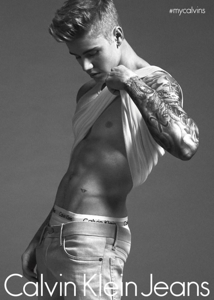 Calvin Klein Campaña 2015 Primavera Verano Justin Bieber 3