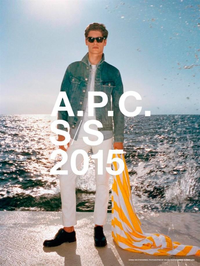 A.P.C. PRIMAVERA VERANO 2015 CAMPAÑA 1